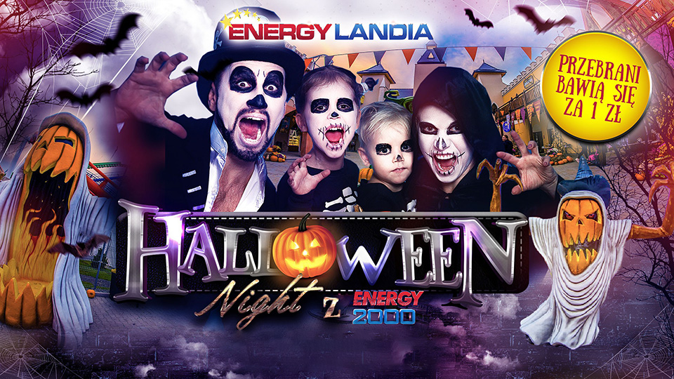 Widámparky Halloween Party 🚌(Energylandia)